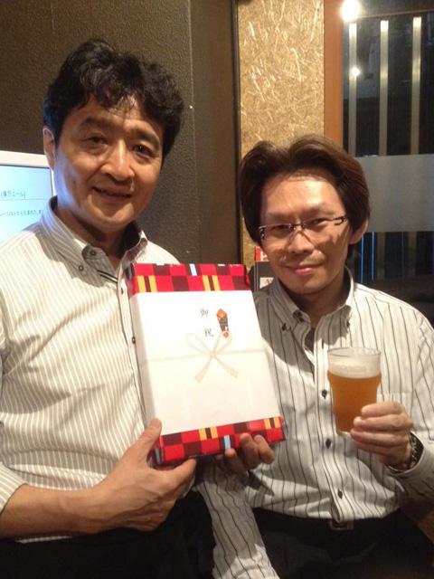 酒類製造免許取得 1年のお祝い