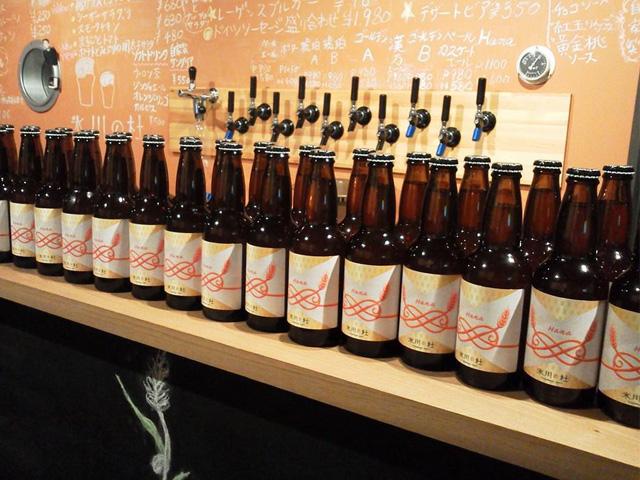 さいたま市初のクラフトビール「氷川の杜」